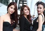 Angela Phương Trinh, Diễm My 9X mặc sexy xem đấu võ