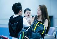 Vợ chồng Diễm Hương dẫn con trai đi hưởng tuần trăng mật