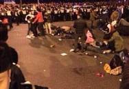 Hiện trường vụ giẫm đạp khiến 35 người chết ở Trung Quốc