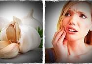 12 thực phẩm chữa đau răng hiệu quả