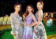 Hoa hậu Kỳ Duyên quyến rũ bên Diễm My, Trương Quỳnh Anh