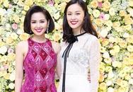 Bạn gái Cường Đô la mặc váy xuyên thấu đọ sắc với Tâm Tít