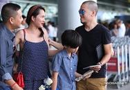 Chồng cũ bất ngờ tiễn gia đình Kim Hiền sang Mỹ định cư