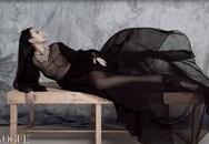 Huyền Ny 'ngực trần' táo bạo trên Vogue Ý