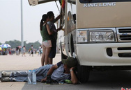 Chùm ảnh người Trung Quốc vật vã vì nắng nóng dữ dội