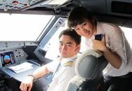 Cơ duyên đưa những cô gái xinh đẹp đến với nghề phi công