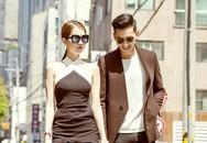 Ngọc Trinh sành điệu sánh đôi cùng Võ Cảnh ở Hàn Quốc