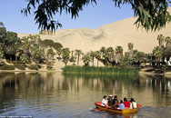 """Cảnh đẹp khó tin ở """"thiên đường xanh tươi"""" giữa sa mạc khô cằn"""