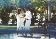 Ảnh cưới lãng mạn của Diễm Trang và ông xã doanh nhân