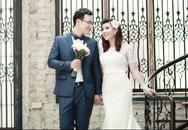 Bộ ảnh cưới lung linh của Bùi Lê Mận bên ông xã kém một tuổi