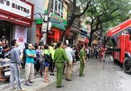 Hà Nội: Cháy lớn tại quán Karaoke trên phố Đoàn Thị Điểm