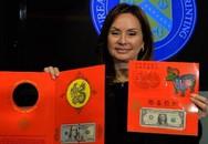 Sốt xình xịch săn tiền 1 USD in hình chú dê vàng để làm quà lì xì dịp Tết