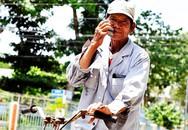 70 tuổi vẫn chạy xe đạp thuê mưu sinh