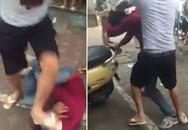 Sốt clip kẻ quấy rối phụ nữ ở Hà Nội bị đại ca đánh nhừ tử