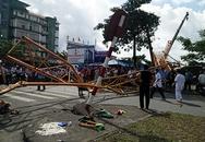 Cần cẩu hơn 70 m đổ sập, 4 người gặp nạn