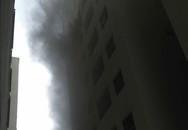 Khói đen bao trùm chung cư mới xây của đại gia Lê Thanh Thản