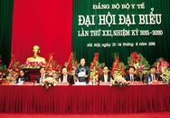 Đảng bộ Bộ Y tế tổ chức Đại hội Đại biểu lần thứ XXI, nhiệm kỳ 2015 – 2020