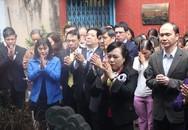 Bộ Y tế dâng hương tưởng nhớ các vị tổ nghề Y Việt Nam