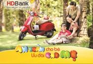 HDBank tặng nón bảo hiểm trẻ em