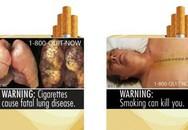 Lời cảnh báo sức khỏe phải chiếm ít nhất là 30% diện tích vỏ bao thuốc lá