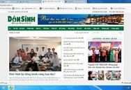 Trang tin điện tử Dân Sinh hoạt động trở lại