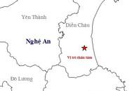 Nghệ An: Dân hoảng hốt chạy ra đường vì trận động đất giữa trưa