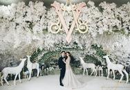 Đám cưới siêu xa hoa như trong truyện cổ tích của người nổi tiếng có gì?