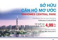 Ưu đãi cho vay mua nhà dự án Vinhomes Central Park