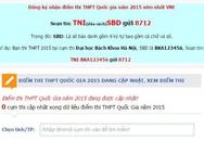 Bị sập website, Bộ GD&ĐT cảnh báo lừa đảo tra cứu điểm thi