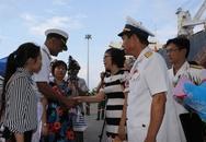 Tàu Hải quân Ấn Độ đến Đà Nẵng