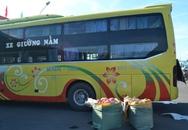 """2 tạ nội tạng bẩn trên xe khách từ Đà Nẵng """"tuồn"""" qua Lào"""