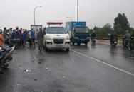 Nam thanh niên bị xe tải hất văng hơn 30m