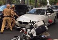 Vụ xe BMW tông xe cảnh sát rồi bỏ chạy: Lái xe bị tâm thần?