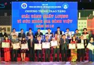"""40 sản phẩm được vinh danh """"Giải vàng chất lượng vì sức khỏe gia đình Việt năm 2015"""""""