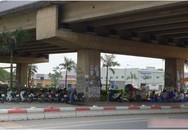 Nghiêm cấm trông giữ xe ô tô tại gầm cầu Thăng Long
