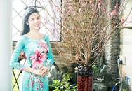 """Hoa hậu Ngọc Hân: """"Chưa bao giờ phải nấu trọn vẹn cả một mâm cỗ Tết"""""""