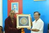 Ngài Hungkar Dorje Rinpoche thăm Ban Tôn giáo TP Hà Nội