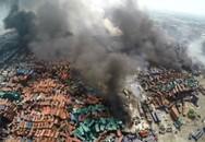 Hóa chất cực độc tại hiện trường vụ nổ lớn kinh hoàng