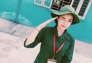 Hoa hậu Kỳ Duyên xinh ngất ngây trong trang phục lính