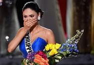 Tân Hoa hậu Hoàn vũ 2015 rơi nước mắt trong hậu trường