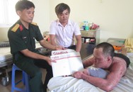 Vòng tay Nhân ái (MS 120): Niềm vui nhỏ với gia đình 4 người bỏng nặng vì nổ gas