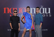 """Adrian Anh Tuấn ngồi """"ghế nóng"""" Vietnam's Next Top Model 2015"""