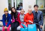Hoa hậu Kỳ Duyên, Công ty Dược Phẩm Hoa Thiên Phú: Mang xuân về cho các em nhỏ bệnh viện K