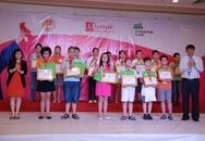 Tôn vinh các học sinh đạt giải Olympic Tiếng Anh Tiểu học Lần thứ 12