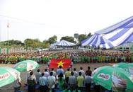 Tưng bừng khai mạc giải bóng rổ Festival trường học TP.HCM - Cúp Milo 2015