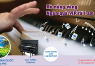 Nên cho trẻ học đàn piano từ sớm