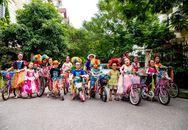Diễu hành xe đạp – Vui đón trăng rằm tại Ecopark