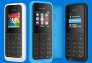 Di động cục gạch Nokia 105 bản mới giá 20 USD