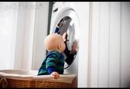 Chuyên gia tư vấn cách dùng và bố trí máy giặt an toàn cho trẻ