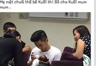 Phan Hiển thừa nhận là bố con trai Khánh Thi rồi vội xoá status